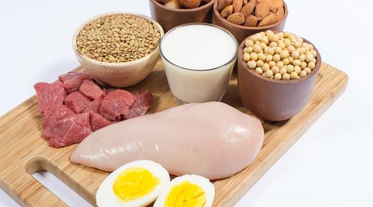 Mat med protein