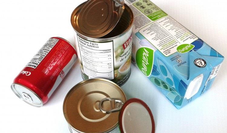 Pappers- och aluminiumförpackning